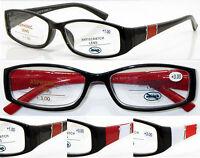 L214 3Pairs High Quality Plastic Reading Glasses/Spring Hinges/Super Fashion