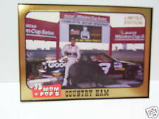 "#3 Dale Earnhardt Senior Mom & Pops special ""pig card"" TRAKS insert"
