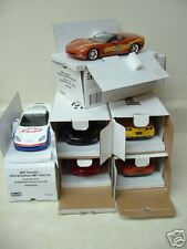 Full set of six 2007 Corvette promo model car Indy 500 Pace Car Daytona 500