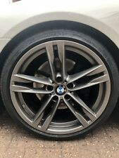 "BMW Genuine 20"" 5 6 Series 373 5 Double Spoke M Sport Alloy Wheels With Tyres"