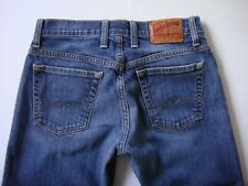 LUCKY BRAND By Gene Montesano Straight Cut Low-Rise Women's Size 2/26 Blue J079