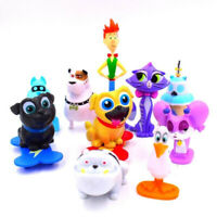 Puppy Dog Pals Bingo ARF Rolly Hissy 12 PCS Action Figure Cake Topper Doll Toys