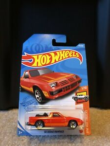 2021 Hot Wheels - '82 Dodge Rampage - HW Hot Trucks 1/10; 175/250
