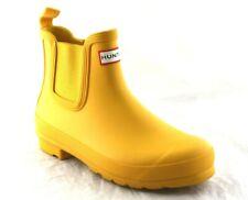 Original Waterproof Chelsea Rain Boot HUNTER WOMEN'S YELLOW SIZE 9