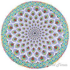 Tapestry Throw Mandala Indian Hippie Beach Round Mat Towel Blanket Boho Picnic