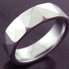 Handmade Stainless Steel Band Fashion Rings