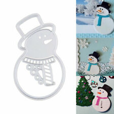 Christmas Metal Cutting Dies Santa Snowman Paper Card Embossing Die Xmas Decor