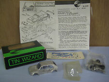 NEW, UNBUILT Tin Wizard No. 2.02 Volkswagen Golf GR.2 Monte Carlo 1/43 Metal Kit