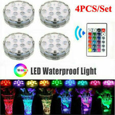 More details for 4x led submersible light waterproof hot tub underwater lights swimming spa lamp