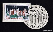 TIMBRE FRANCE OBL. 1° JOUR  Yt 1949 CHATEAU DE VITRE