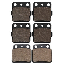 Cyleto Front and Rear Brake Pads for LTZ400 LT-Z 400 2003 2004 2005 2006 2007