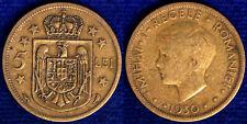 5 LEI 1930 ROMANIA #6184