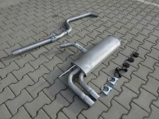 Silencer for Seat Altea Leon 2.0 TDi 170 HP from 05/2006 exhaust system 1072
