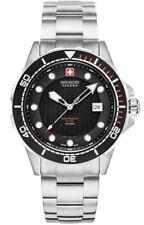 Swiss Military Hanowa Neptune Diver Men's Silver S/S Watch 06-5315.04.007