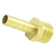 """Messing 1/4"""" PT aussengewinde 6.5mm Luftschlauch Gasschlauch Widerhaken Kup R5Q3"""