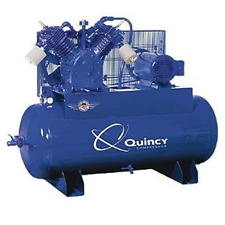 Quincy Qp Pro Max 10-Hp 120-Gallon Pressure Lubricated Two-Stage Air Compressor