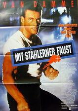 Van Damme DEATH WARRANT original vintage 1 sheet movie poster 1990