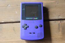 Game Boy Color - Purple - Nintendo Handheld System Rare