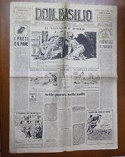 DON BASILIO 10 Luglio 1949 Clero Rodolfo Arata Leone XII MSI Antonio Rappa di e