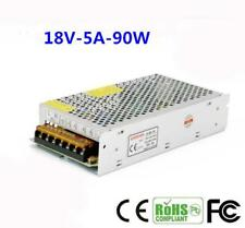 AC 110-260V to DC 18V 5A Switching Power Supply Converter Adapter for LED Strip