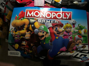 Mario Monopoly Poster