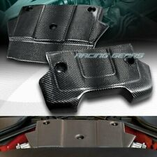 LIGHT-WEIGHT 2-PIECE REAL CARBON FIBER ENGINE COVER FIT 09-16 NISSAN 370Z Z34