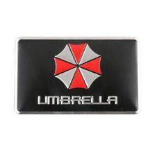 Umbrella Corporation Auto Emblem Aufkleber Sticker - Metall - rechteckig