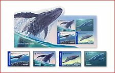 AUS0613 Whales 4 stamps and block MNH AUSTRALIA 2006