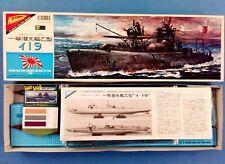 Nichimo 1/200 Motorized japan submarine WW-II. Type 1-19. Kit N° U-2006.