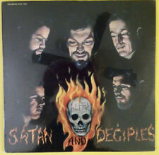 SATAN AND DECIPLES - Underground (SEALED 1969 LP on US Goldband w/Freddy Fender)