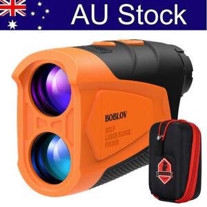 BOBLOV Golf Range Finder Slope Flag-lock Hunting Distance Speed Measurement AU