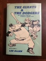 The Giants & The Dodgers by Lee Allen -  Putnam HB First Edition 1964 Baseball