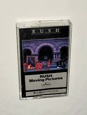 NO JUNK TAPES Cassette RUSH Moving Pictures Poly Gram LIKE NEW😎🎵👍