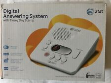 AT&T Digital Answering Machine New 1740 Time Day Stamp