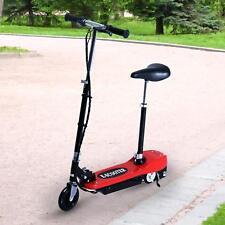 "Qaba 33.9"" to 37.8 E-Scooter Seat Kids Motorized Bike Battery Rechargeable BK"