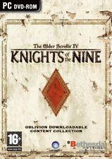 Elder Scrolls Oblivion Knights of the Nine PC NEW And Sealed Original UK Release
