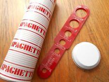 Vintage Retro SPAGHETTI Storage Tin Container & Portion Measure CANDLELIGHT UK