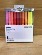 Cricut Infusible Ink Marker Set 30 Pack Explore Air 2 Maker Pens EasyPress
