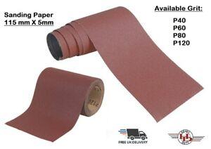 Aluminium Oxide Sanding Sandpaper Roll 40,60,80,120 Grit Sandpaper Roll Woodwork