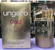 EMANUEL UNGARO GOLD EAU DE TOILETTE 90ML PROFUMO DONNA SPRAY EDT DONNA
