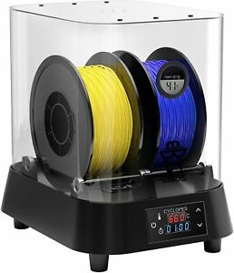 EIBOS Filament Dryer Box, 3D Printer Dehydrator Storage Adjustable Timer Humidit