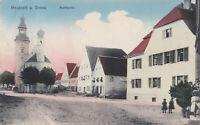 AK Neustadt-Donau, Marktplatz, gel. 5.1.1913