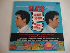 Elvis Presley LP Double Trouble (Green International) (RCA INTS 5039, UK)
