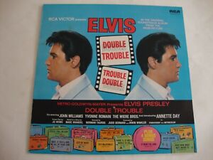 Elvis Presley LP Double Trouble (Green International) (RCA INTS 5039, UK)