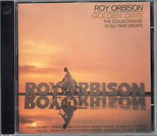 CD - Roy Orbison - Golden Days -  Oh Pretty Woman, Only The Lonely, Crying (60)