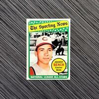 1969 Topps #430 Johnny Bench | PSA Worthy: 💎 NM-MT 💎