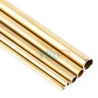 High Quality Brass Tube Pipe Tubing Round Outer 3mm-8mm Long 200mm Wall 0.5mm DY