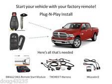 Plug-N-Play Remote Starter 2013-2017 Dodge RAM -DB3- THCHD3- uses OEM remotes
