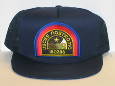 Alien Movie U.S.C.S.S. Nostromo Crew Embroidered Patch o/a Blue Baseball Cap Hat