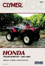 CLYMER Repair Manual for Honda TRX500 Rubicon 2001-2004